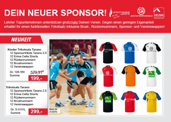 Handball Sponsoring - Sport Goslar